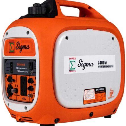 Sigma 2400 Watts Surge Power Super Silent Inverter Generator Paralleled Ready RV