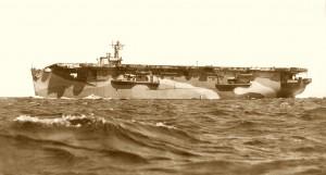 HMS Hunter sepia
