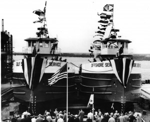 Ingalls - twin launch 1956