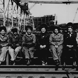 Ingalls WWII workers