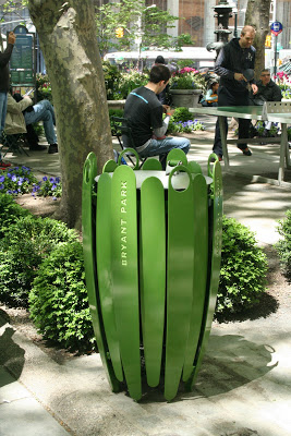 Get a charge from this new technology in the park and Bryant Park