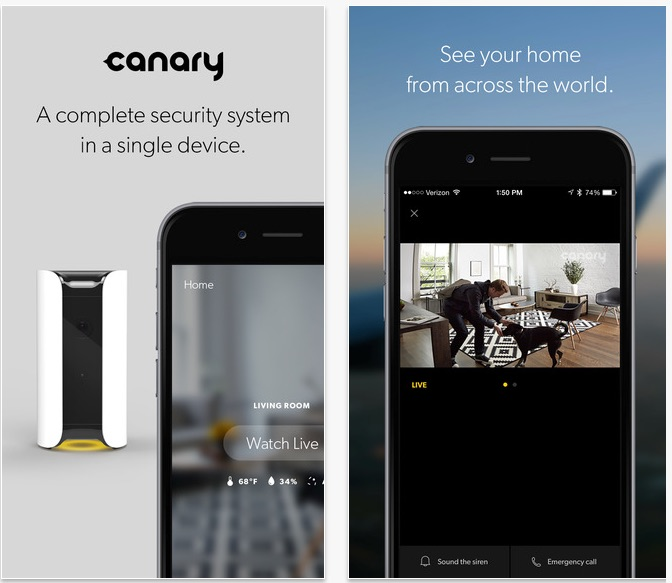Canary Smart Home Security