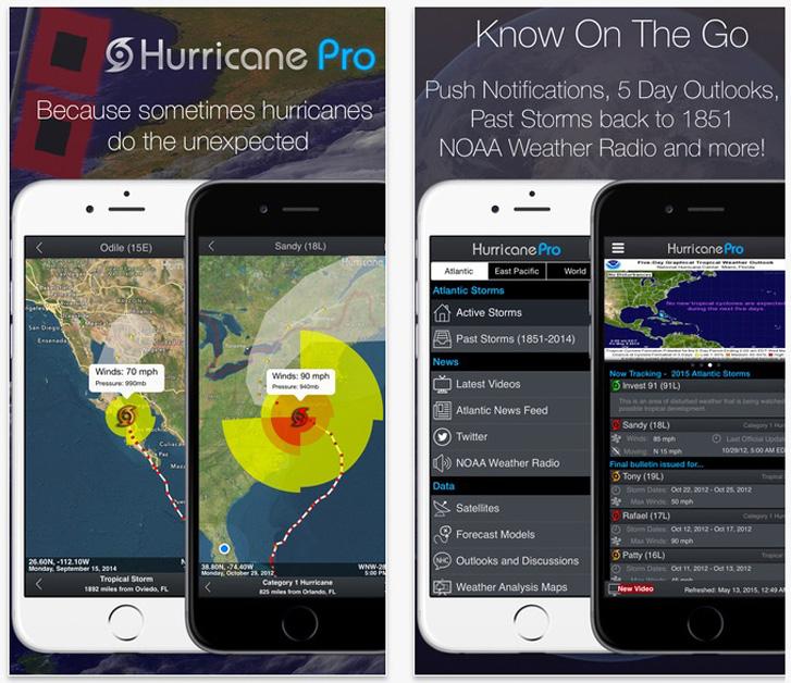 Hurricane Pro Best Hurricane Tracker For Severe Weather App
