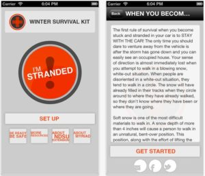 This App Could Save Your Life in Cold Weather - Winter Survival Kit App