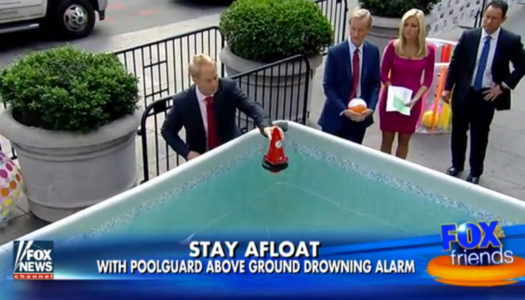 Newest Pool Tech Hopes to Prevent Drownings