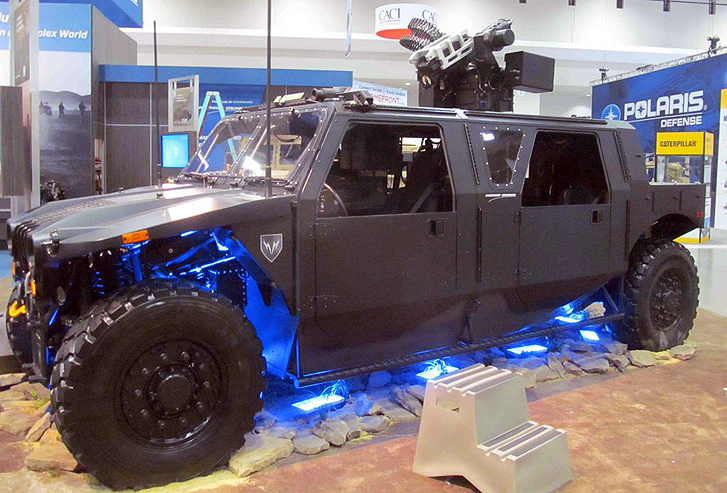New Technology Could Stop Vehicles From Being Turned Into Weapons Hellhoundlaser2