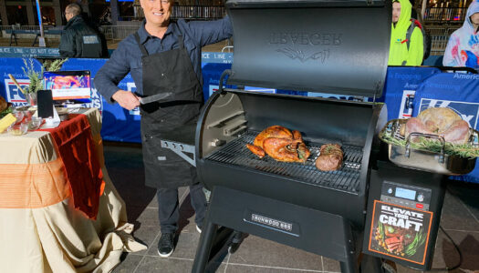 The Perfect Holiday Turkey on the Grill