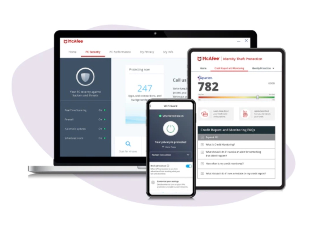 McAfee Total Protection 2021 Antivirus Software