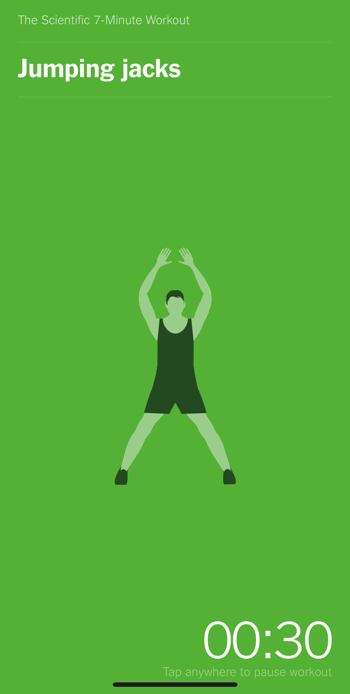 NY Times article based workout