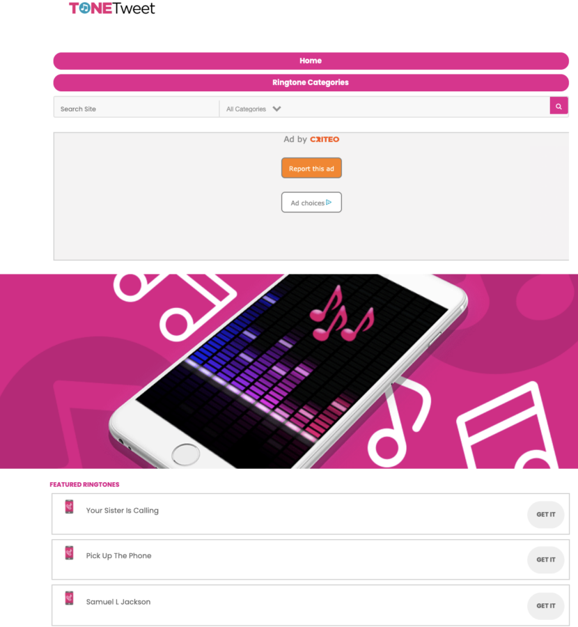 Best websites for ringtones