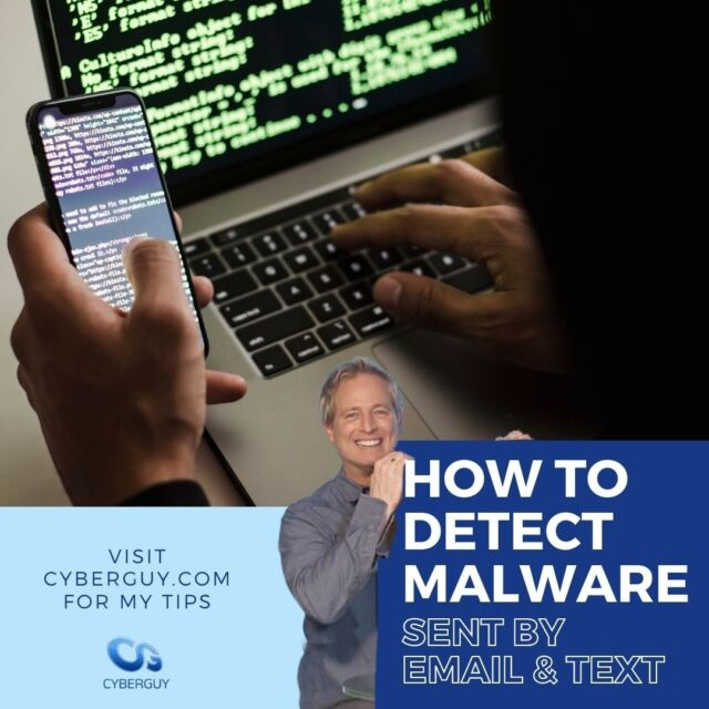 Instead of hours or minutes, cyber criminals are deploying AI software to comb through mountains of social media data to identify their next rich target. Here's how to outsmart the next attacker and detect any malware already lurking on your device.  Link in bio for my tips.