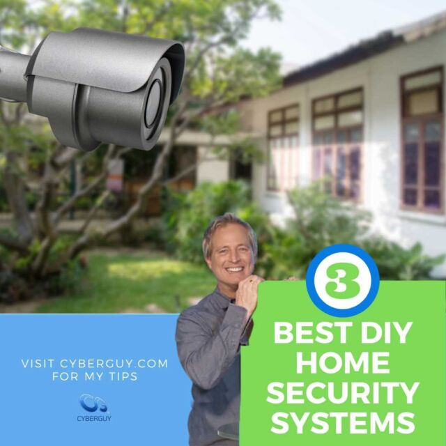 My picks for the 3 winning do-it-yourself home security systems. Plus, 5 things to know before you install security at home.  More at link in profile.
