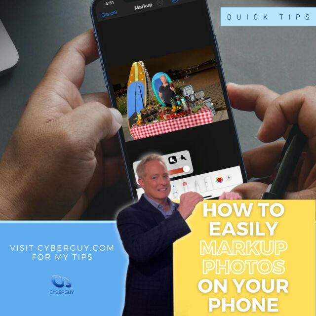 Follow these quick tips to add text, shapes, lines and even your own signature to the photos on your phone. 📱 Link in profile for more.