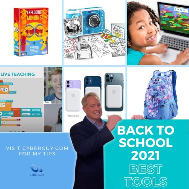 Best Back to School ideas for 2021 are here. See how some parents are choosing to sharpen their kids minds after a less than amazing 2020 of learning. And see the best selling backpack that just hit over 10,000 positive reviews!  Link in profile.  * * * * * #technews#tech#techtips#tips#hightech#techie#technology#techtrends#kurtalert#foxandfriends#betterwithfriends#gadgets#backtoschool#leapfrog #onlinelearning #byju #kidizoom #photographers #minions #cardgames #iphone #iphonebatteryback #bestbackpacks #backpacks