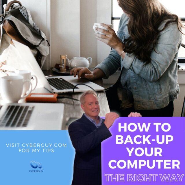 How to backup your digital files and important information in life. The difference between backing up to a cloud service versus plugging in a physical drive and keeping the info safe at home.  Link in profile for my tips.