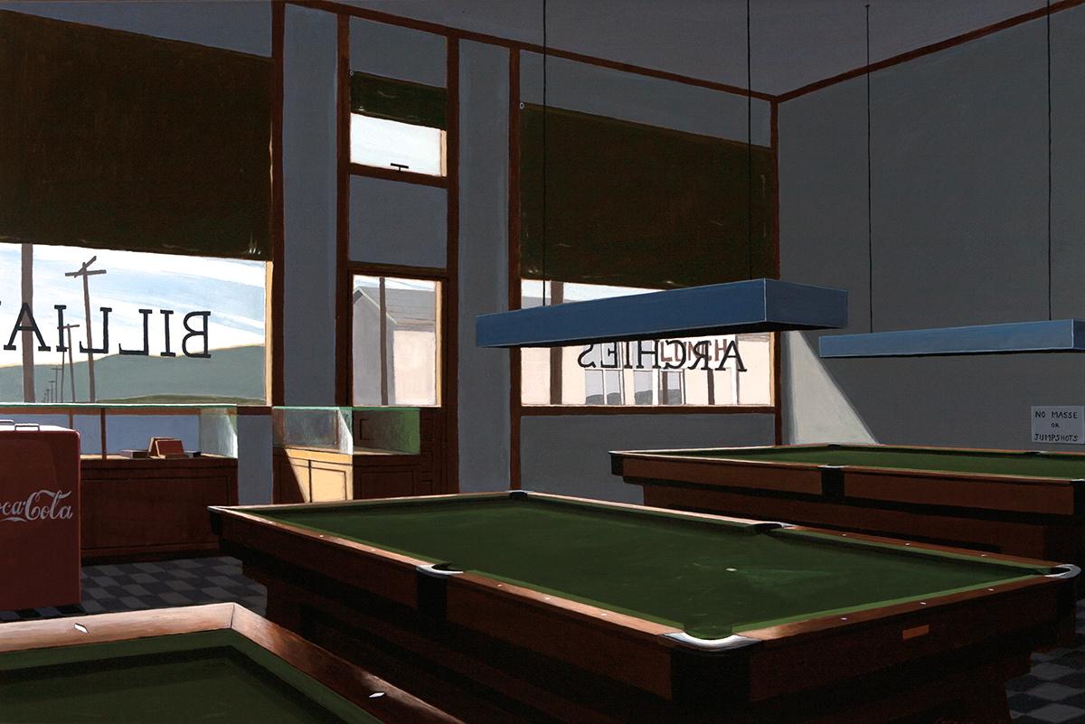 Green-Poolroom, 1977