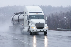Truck Driving in Adverse Weather Conditions