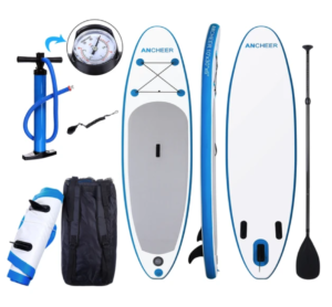 Ancheer paddle board kit overview