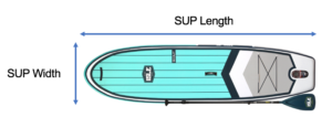 Paddle Board SIzing Guide And Dimensions