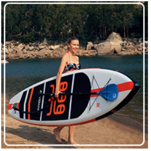 lightweight paddle board option