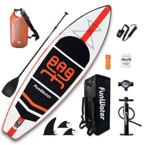funwater 11 foot inflatable paddle board review