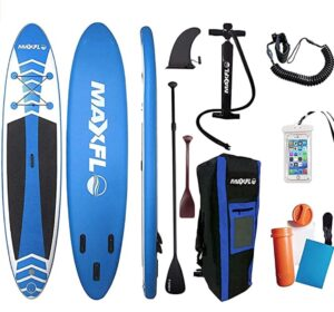 maxflo 10 foot inflatable paddle board