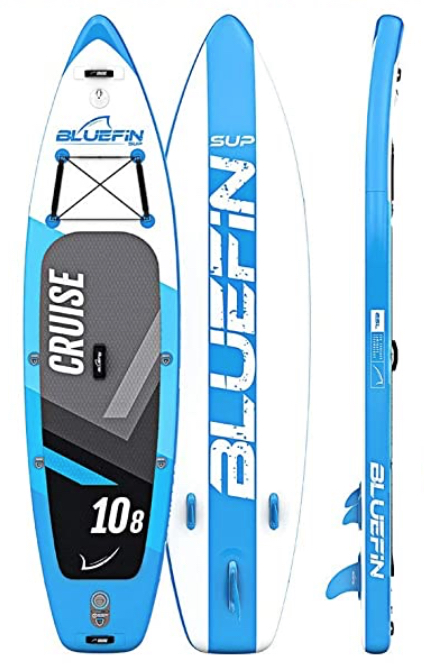 bluefin cruise paddle board 10 foot 8 inch