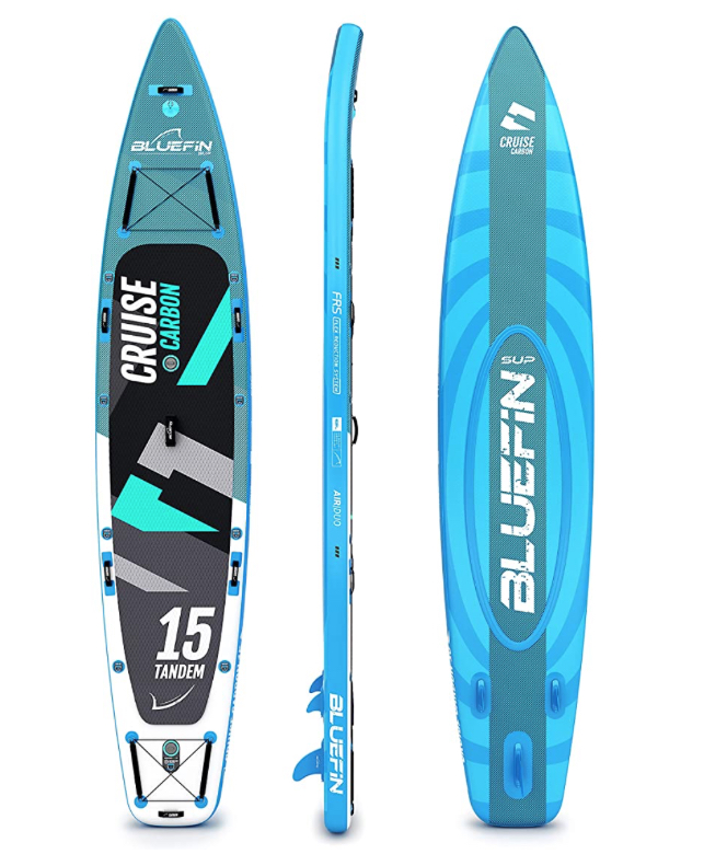 bluefin cruise tandem 15 foot paddle board