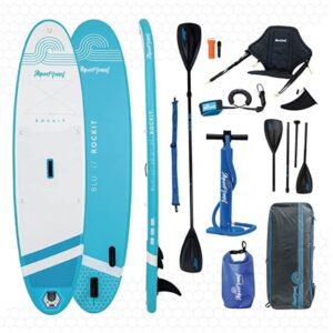 Aquaplanet Rockit BLU Paddle Board Kayak Hybrid Kit