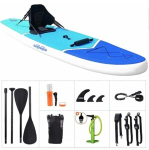 Zupapa Inflatable Stand Up Paddle Board 11 FT Kayak Hybrid kit