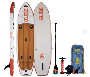 GLide SUp Inflatable Fishing Paddler Board For Anglers