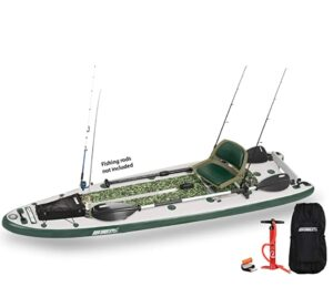 Sea Eagle inflatable fishing SUP