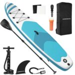 LEADNOVO Inflatable Stand Up Paddle Board 10.5'