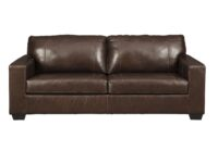 Morelos Chocolate Leather Sofa ASLY 3450238