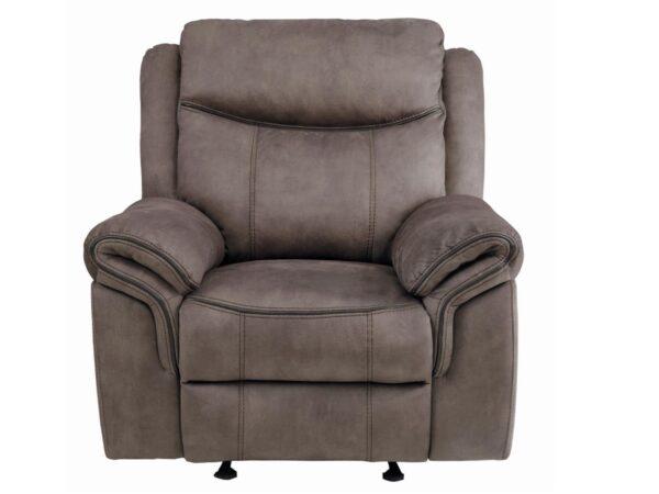 Aram Fabric Glider Recliner Chair AGA 8206NF-1