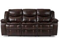 Bastrop Brown Recliner Sofa AGA 8230BRW-3