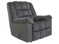 Drakestone Charcoal Rocker Recliner Chair ASLY 3540225