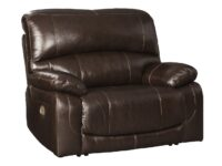 Hallstrung Chocolate Power Recliner Chair (Angle) ASLY U5240282