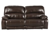 Hallstrung Chocolate Power Recliner Sofa (Front View) ASLY U5240247