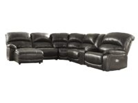 Hallstrung Gray 6-Piece Power Recliner LAF Chaise Sectional ASLY U52403-79-46-77-19-57-62-CLSD-SW