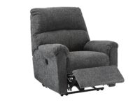 McTeer Charcoal Power Recliner Chair ASLY 7591006