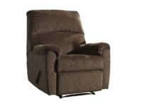Nerviano Chocolate Recliner Chair ASLY 1080229