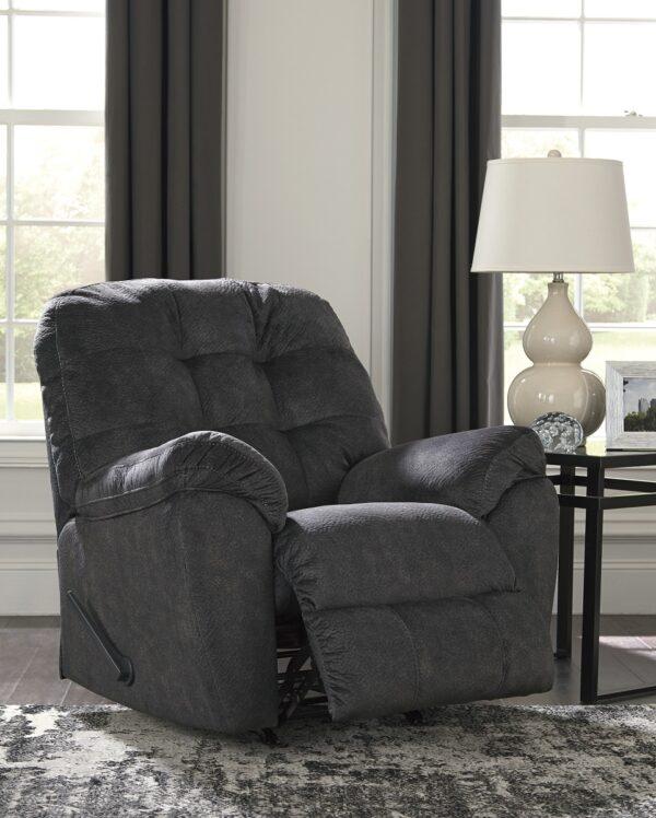Accrington Granite Rocker Recliner Chair (Room View)