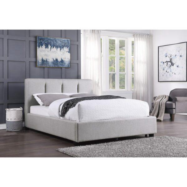 Aitana Upholstered Platform Bed (Room View)