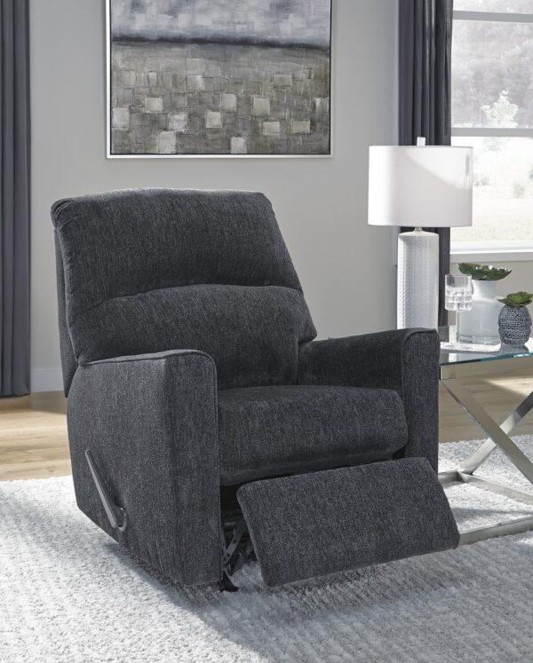 Altari Slate Rocker Recliner Chair (Room View)