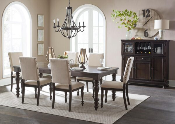 Begonia Dining Collection (Room View) AGA 1718GY-90