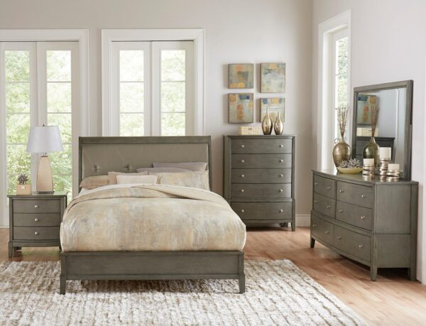 Cotterill Grey Bedroom Collection AGA 1730GY