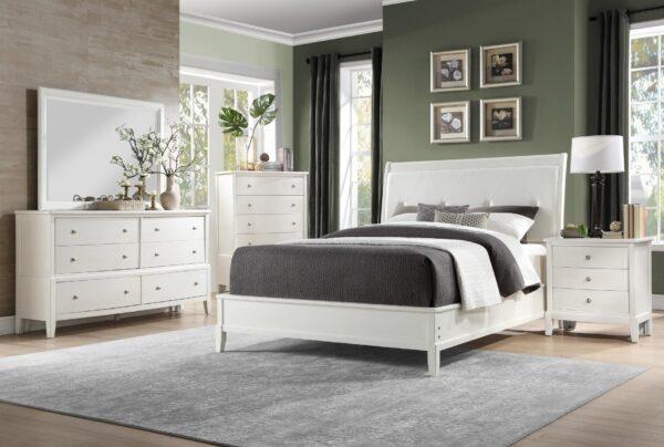 Cotterill White Bedroom Collection AGA 1730WW