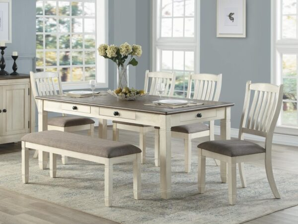 Granby 6-Piece Dining Set AGA 5627NW