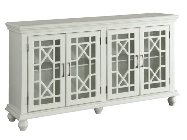 Grondin White Accent Cabinet CST 950638